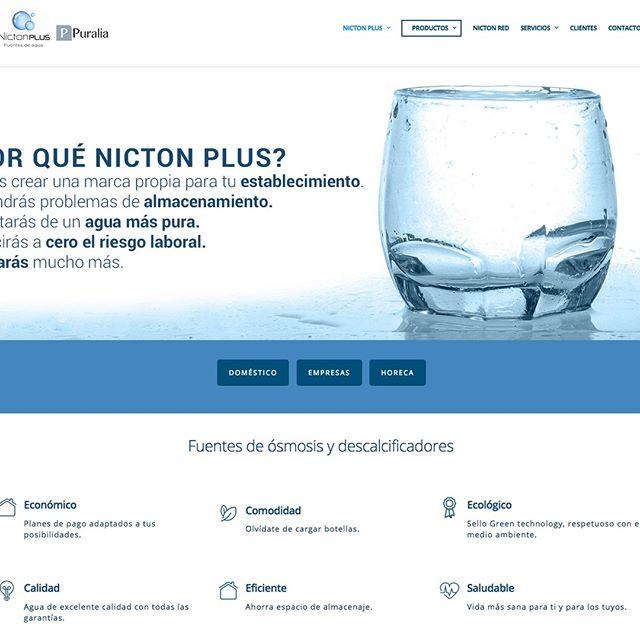 diseño web tratamientos de agua