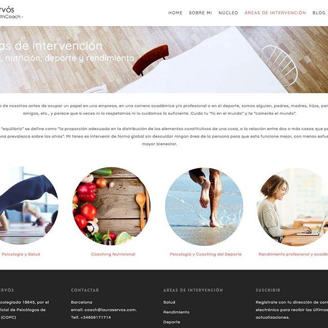 Diseño web psicóloga Barcelona