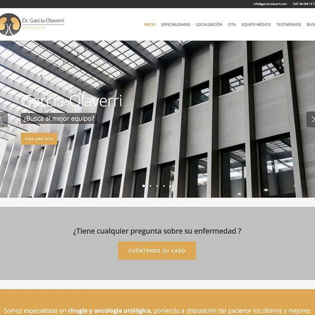 diseño web urólogo Barcelona