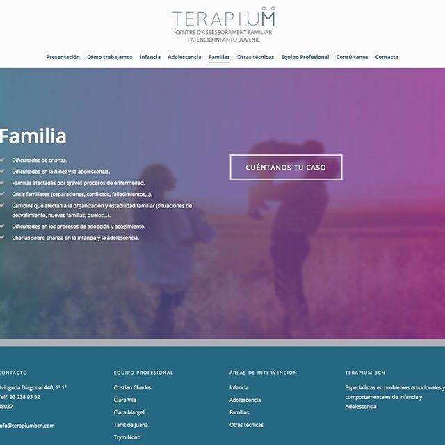 diseño web asesoramiento familiar barcelona
