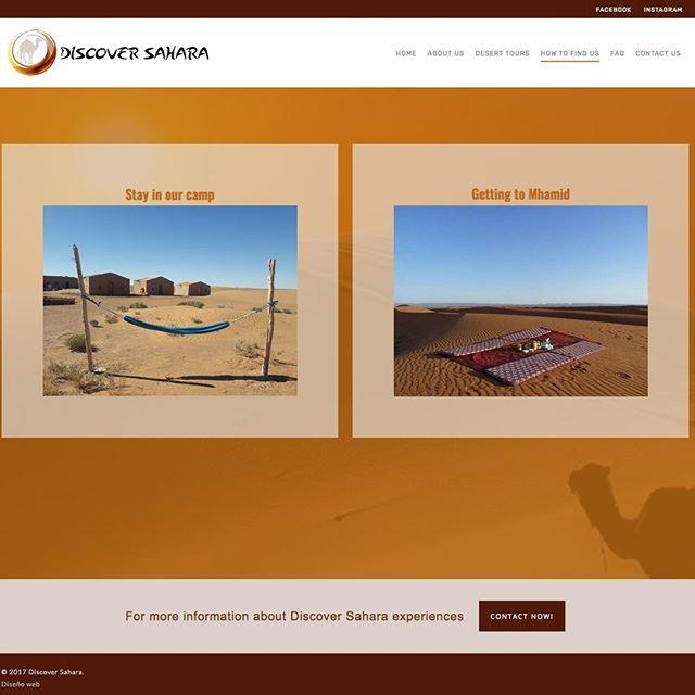 diseño web viajes al desierto