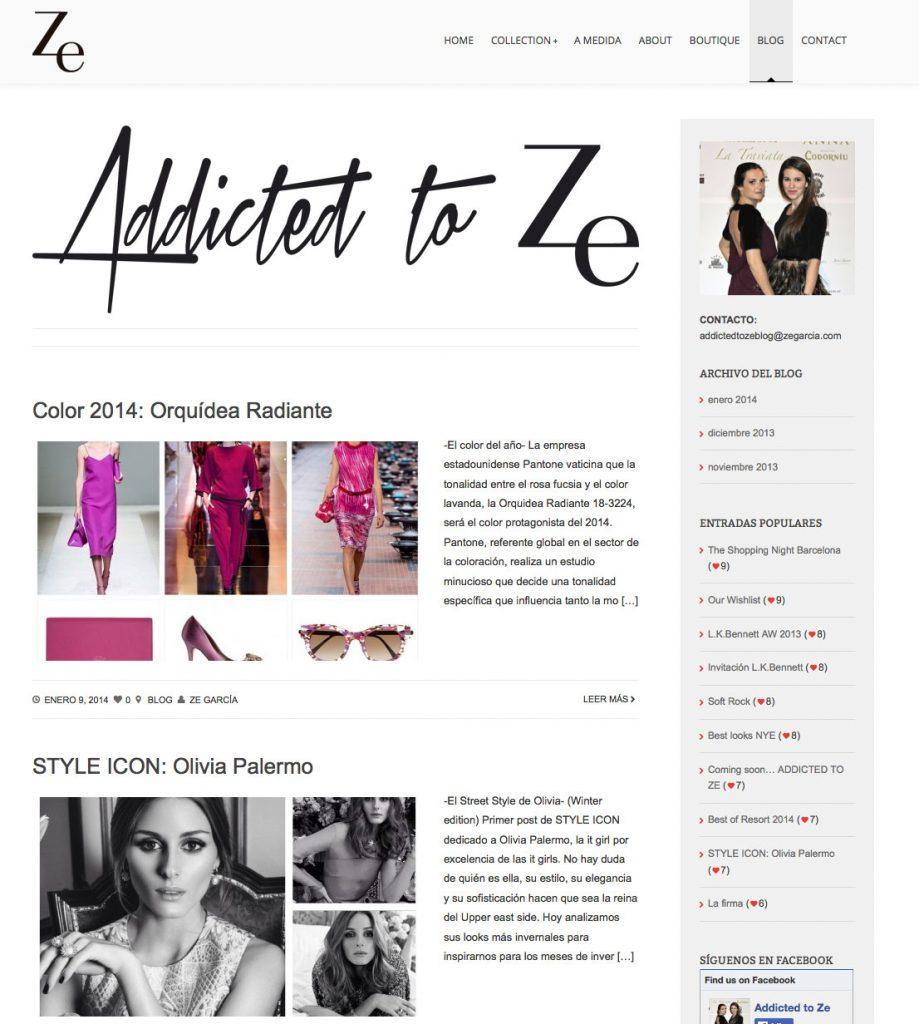 diseñador de moda Ze Garcia