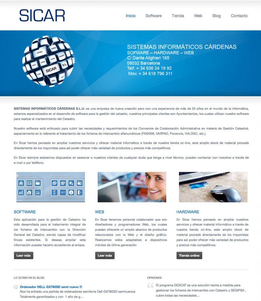 sistemas informaticos Sicar