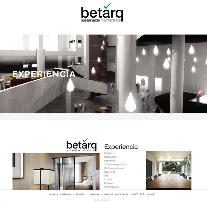 Diseño web empresa mantenimiento