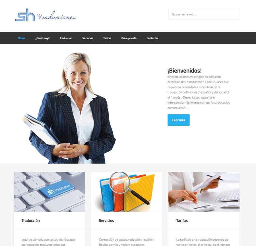 diseño web traductores