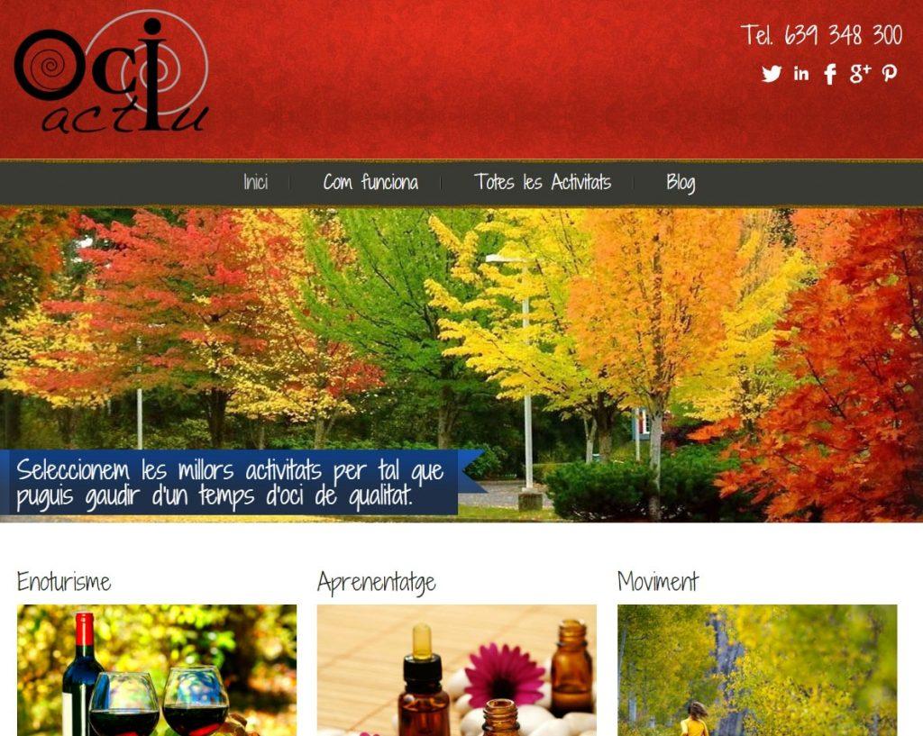 diseño web eventos
