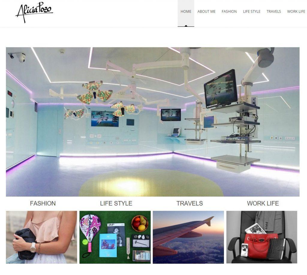 Diseño web Blogger