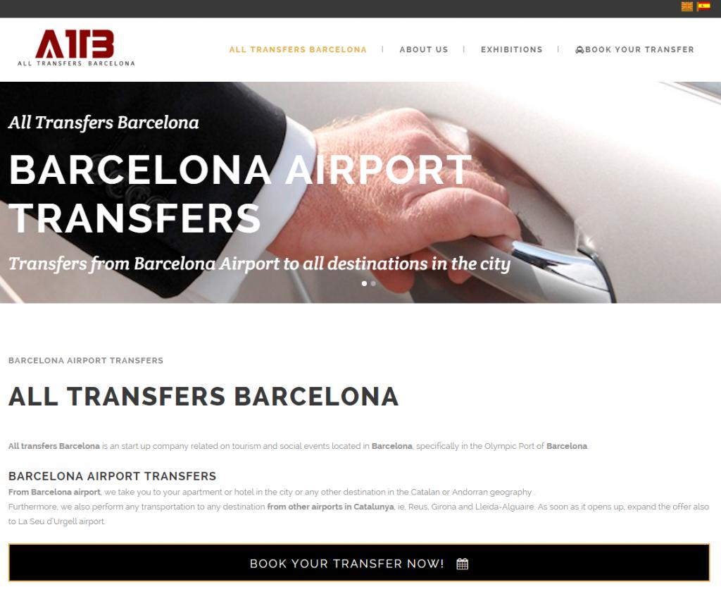 Diseño web transportes