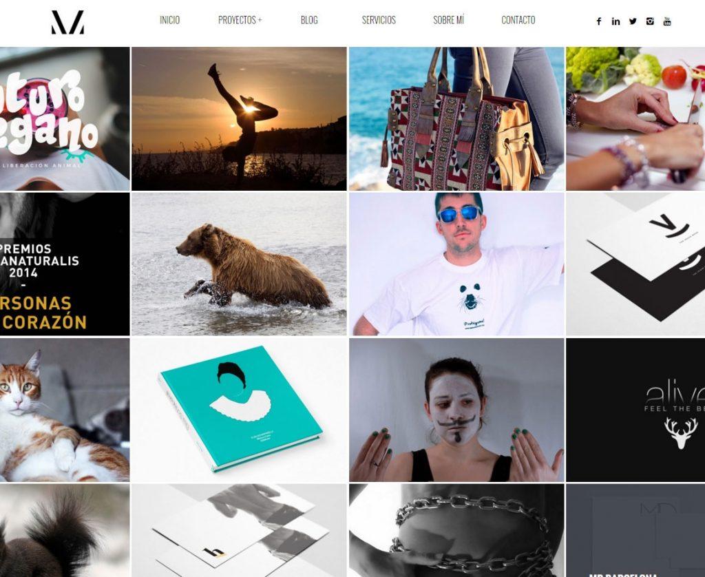 Diseño web fotografía Barcelona