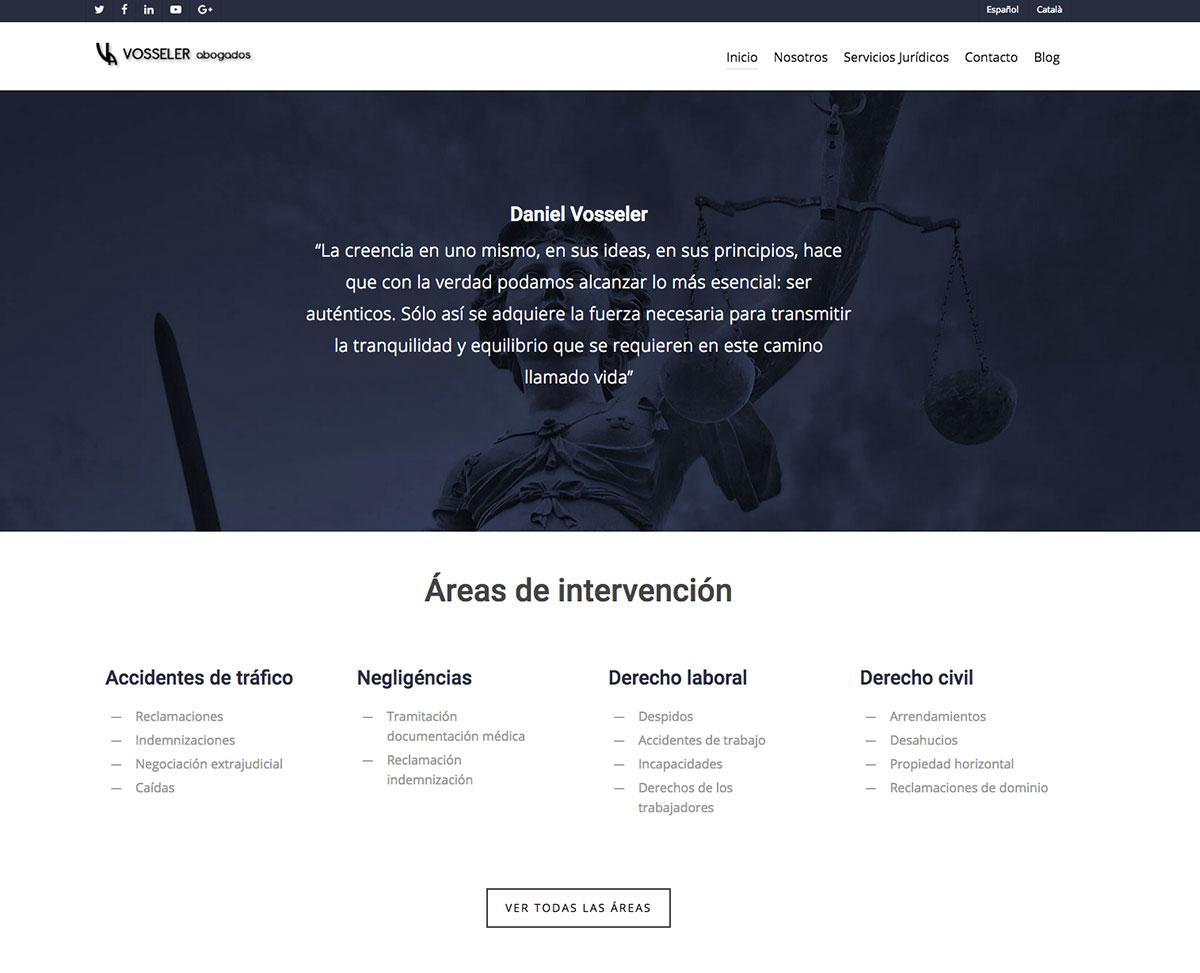 diseño web abogados barcelona