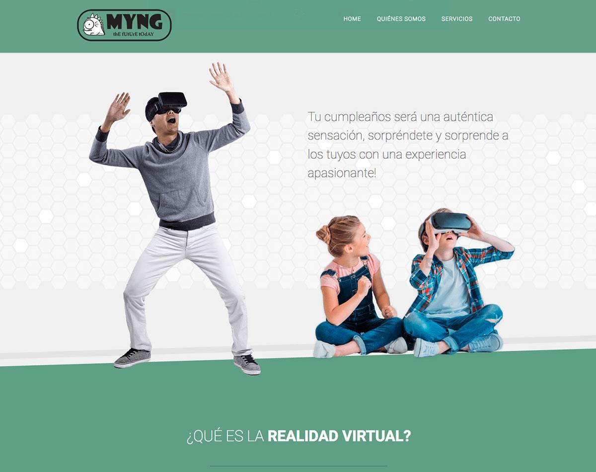 diseño web nuevas tecnologías realidad virtual