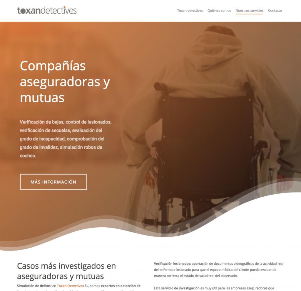 diseño web detectives