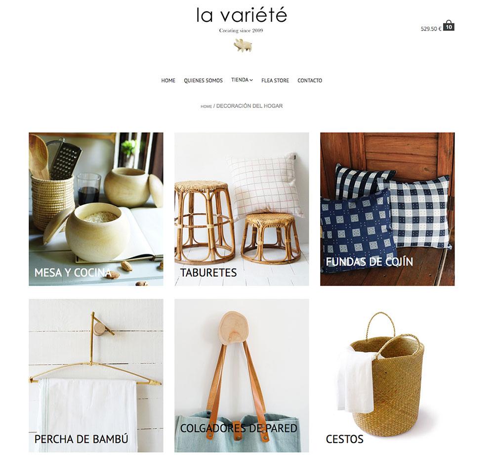diseño web y desarrollo tienda online