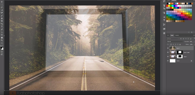 Cómo hacer un efecto 3D fuera del marco con Photoshop - Kma Disseny