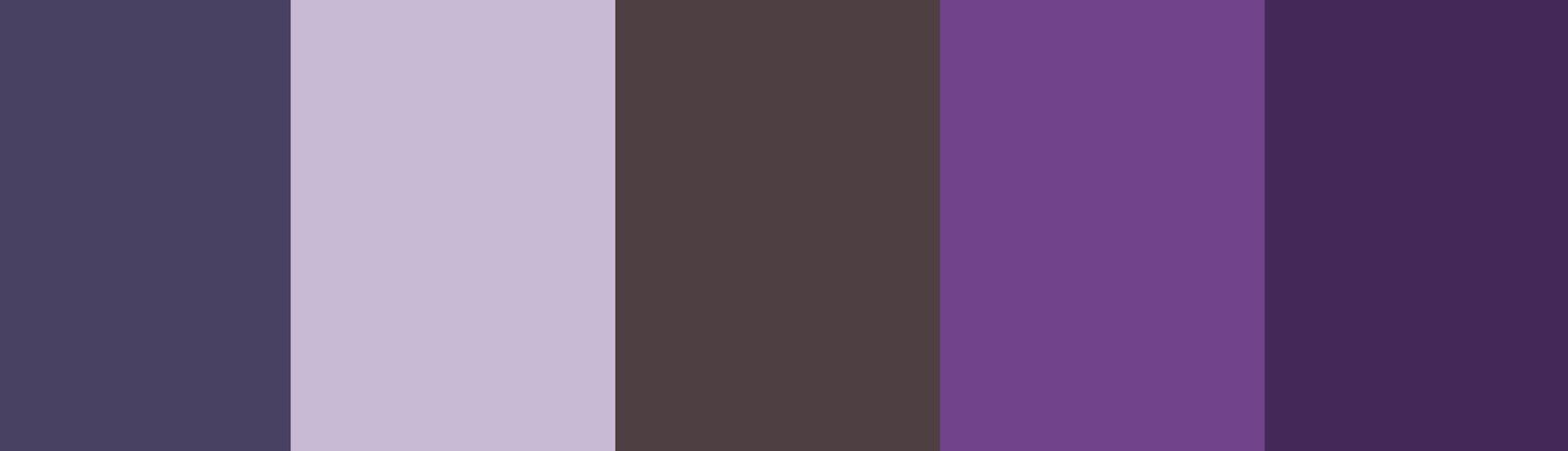 paleta de colores magentas