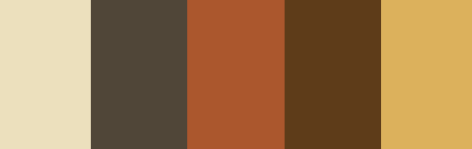 paletas de colores marrones
